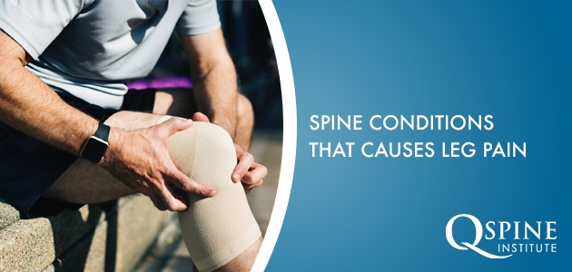 leg pain from spine condition